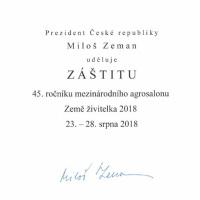 Záštita prezidenta ČR