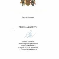 Záštita primátora Českých Budějovic