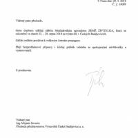 Záštita Zemědělského svazu ČR