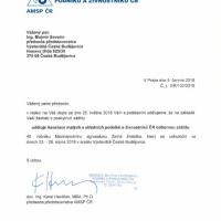 Záštita AMSP ČR